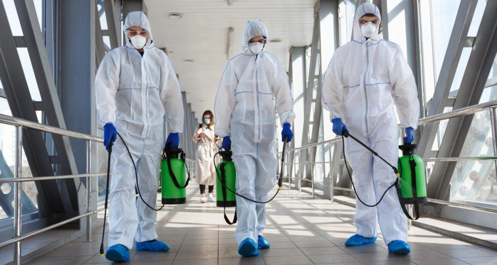 Desinfección con pulverizador | Exprodim
