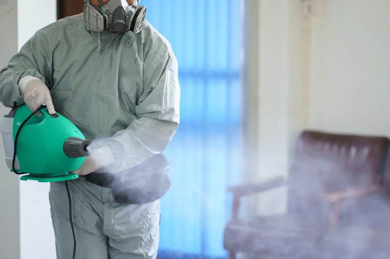 Nebulizador para desinfección en casas rurales de Madrid | Exprodim
